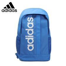 Adidas Linear core Backpack Bag school gym men womens kids NEW BLUE