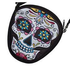 Day Of The Dead Mini Handbag - Halloween Bag Fancy Dress Sugar Skull Accessory