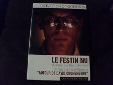 "RARE! COFFRET 2 DVD ""LE FESTIN NU Peter Weller / AUTOUR DE DAVID CRONENBERG"""