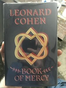 Book Of Mercy • Leonard Cohen • 1st True Edition Rare Hcdj  Literature Rare