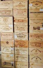 5 Wine Crate French Original Twelve count Bottles Original