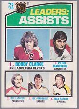 1976-77 OPC O-Pee-Chee #2 League Leaders Assists Mint Sharp