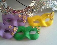 12 x masquerade masks mardi gra cupcake cake decorations party celebrate