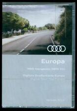 2017 Audi MMI 2G Navigation Road Map Update DVD