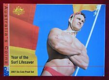 2007 Year of the Surf Lifesaver, Six Coin Proof Set, Royal Australia Mint