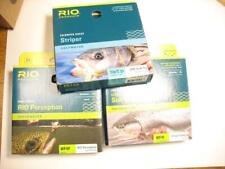 3 Rio Perception, Sink Tip, In Touch fly fishing lines new in box - batch #16