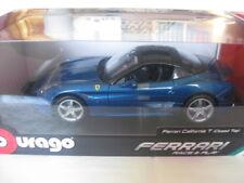 Burago Ferrari California Blau Race & Play #18-16003BL  1:18 Neu in OVP Ungeöffn