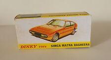 Repro Box Dinky Nr.011454 Simca Matra Bagheera
