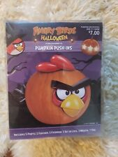 Angry Birds Halloween Pumpkin Decorating Push-Ins Kit