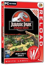 Jurassic Park Operation Genesis PC New and Sealed, Super Rare