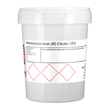1kg férrico amonio citrato (marrón)