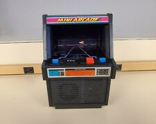 Vintage Tomy Cosmic Clash Mini Arcade Cabinet Tested Working 1982