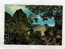 Région de CILAOS / TAN-ROUGE (ILE DE LA REUNION) ROCHER & VILLA en bois en 1983
