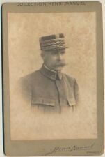 CIRCA 1900-S ANTIQUE CABINET PHOTO GENERAL PETAIN FRANCE PARIS  MARSHAL MILITARY