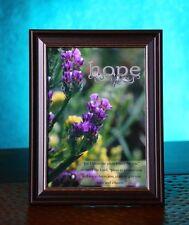 "New Bible Scripture Picture Print In Frame 5X7 ""faith"" Verse Jesus Fine Art God"