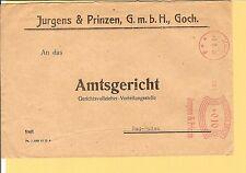 Dr/Goch D 3.3.26 Garçons & Pinzen 10 Pf. - AFS A. amtsgerichtsvordr. - Lettre