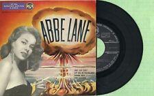 ABBE LANE Que Sera Sera / Banana Boat RCA 3-24033 Spain 1958 EP 45 rpm EX