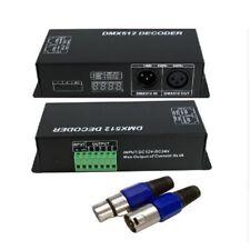 LED DMX512 Decoder Controller 4 Kanal RGBW Digital Display PWM Signal Konverter