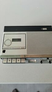 Rare Vintage Portable Phillips N2205 Cassette Recorder/Player