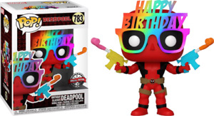 Deadpool - Birthday Glasses 30th Anniversary US Exclusive Pop! Vinyl #783 - NEW