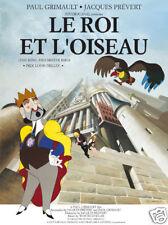 Le roi et l'oiseau Jacques Prevert movie poster print