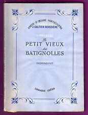 LE PETIT VIEUX DES BATIGNOLLES  -  GABORIAU   -  GRUND  -  1946