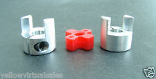 "3/8"" x 3/8"" Small Jaw Coupler Ballscrew CNC Shaft Spider Stepper Motor Coupling"