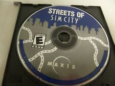 STREETS OF SIM CITY 2000 COMPUTER GAME MAXIS KIDS E FOR EVERYONE ELECTRONIC ARTS