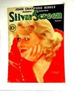 Constance Bennett Silver Screen Feb.1933 Front Cover