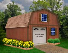 Best Barns West Virginia Wood Garage Kit w/ Loft/Stairs 16x20,16x 24,16x28,16x32