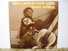 WOODY GUTHRIE, THIS LAND IS YOUR LAND, RARE 1967 NEAR MINT , EARLY FOLK