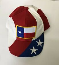 Texas Flag Patch Hat Cap SnapBack Trucker Hat Red White And Blue