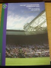 28/06/2012 Tennis Programme: Wimbledon Day 4 - Official Programme, A4. Thanks fo