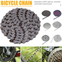 Bicycle Chain Bike Quick Connector 116 Links 9/27 Speed MTB Bike Steel Chain