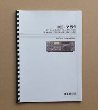 ICOM IC-751/A Instruct manual Upgrades, videos, CD & DVD with locally websites