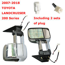 Extendable Towing Mirrors For 2007-2016 2017 2018 TOYOTA 200 Series LANDCRUISER