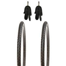 28 Zoll Decken 2x Mitas Hook schwarz Classic Fahrrad Reifen 32-622 oder 42-622