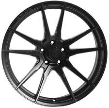 19x8.5/9.5 Rohana RF2 5x114mm +35/40 Black Rims Fits Rx8 Is250 Is350 Sc430 Gs300
