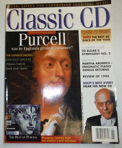 Classic CD Magazine John Eliot Gardiner William Christie January 1995 032515R2