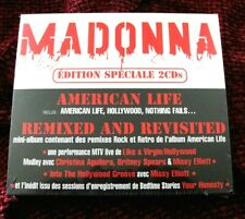 MADONNA Remixed Revisted SEALED American Life BLOODY Promo Box Set FRANCE Lot LP
