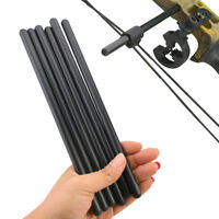 1pc Decut Carbon Archery Compound Bow String Suppressor Rod Stabilizer Silencer