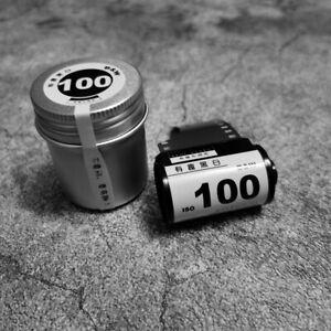 Mr Zhu ISO 100 36 Exposure 135 Format Black and White Film - BRAND NEW