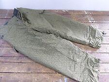 East German (DDR) Strichtarn (Rain-Camo) Field Combat WINTER PANTS- Size m52