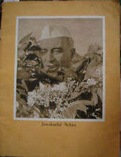 INDIA - OLD & RARE  - JAWAHARLAL NEHRU - PICTURES ALL OVER - TOTAL PAGES 52