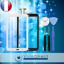 """Vitre ecran tactile pour Samsung GalaxyTab 3 7.0""""T210 T2100 P3200 blanc + outils"""