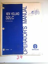 New Holland Operator's Owner's Manual 32Lc Tna SeriesTractor's Front Loader 2/04
