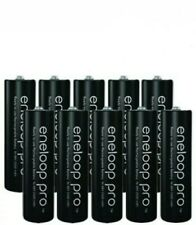 10 x Panasonic Eneloop PRO AA batteries Rechargeable 2500mAh Ni-MH High capacity
