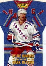 1996-97 Pinnacle By The Numbers #12 Mark Messier