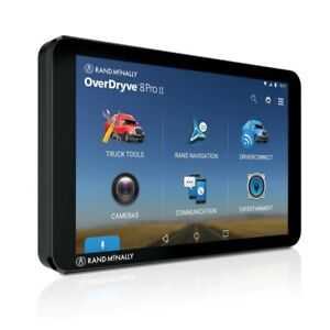 """Rand McNally TND™ TABLET 85, 8"""" Truck GPS, Android tablet, Built-In Dash Cam"""