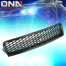 FOR 02-05 AUDI A4 S4 B6 RS-STYLE BLACK ABS FRONT BUMPER SPORT MESH GRILL/GRILLE